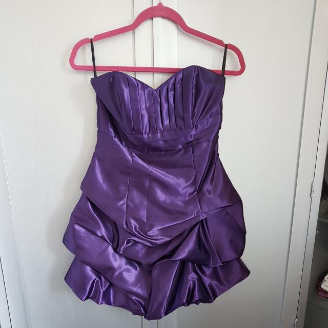 Purple Jessica McClintock Dress