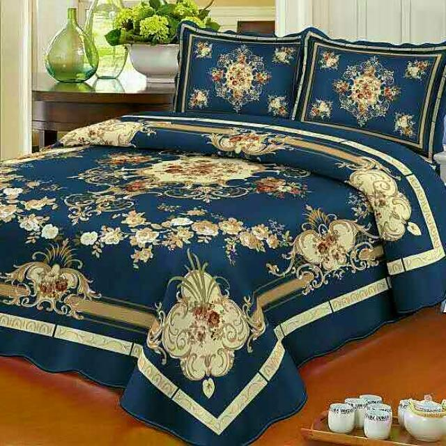 Queen size bedspreads COVERLET  Cotton