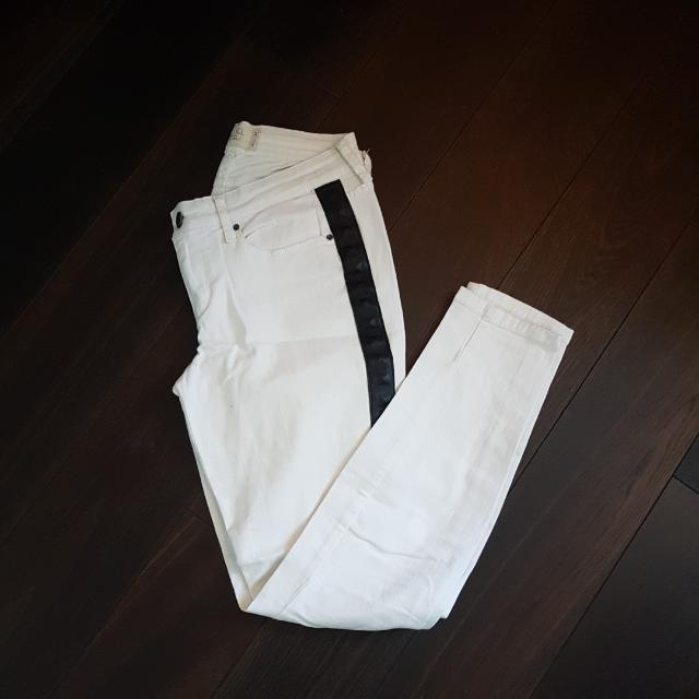 Rachel Roy White Jeans