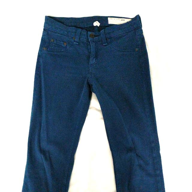 Rag & Bone Soft Blue Jeans