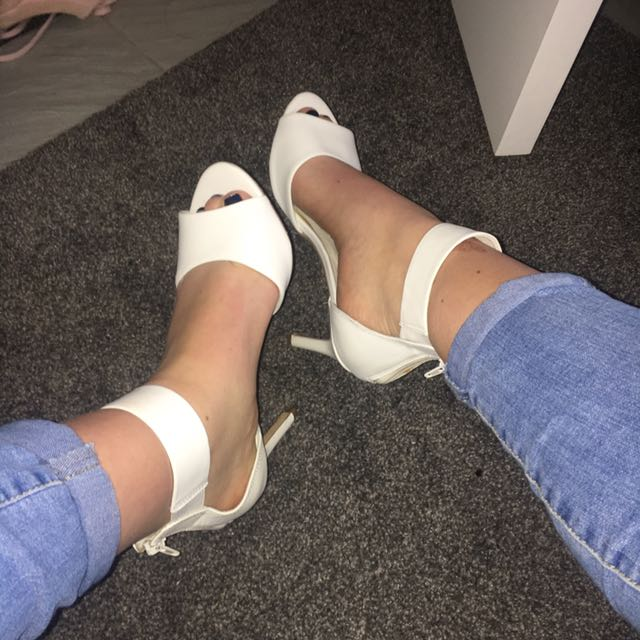 Real Leather Heels