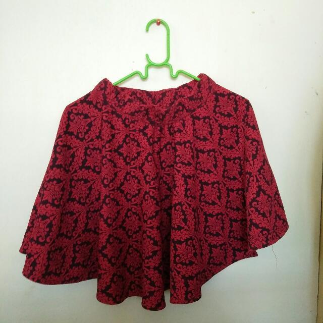 Red Skaters Skirt