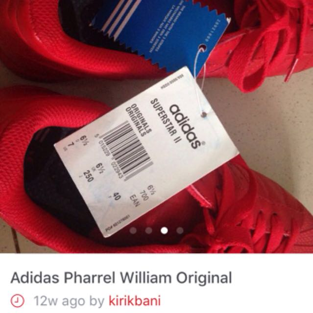 Reprice- Adidas Supercolor Red