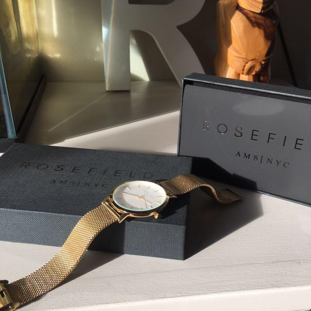 Rosefield Gold The Mercer Watch