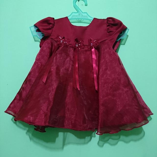 Royal Red Dress