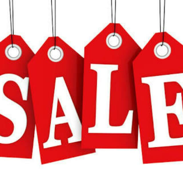 SALE SALE SALE ALL ITEMS ARE REPRICED ALREADY
