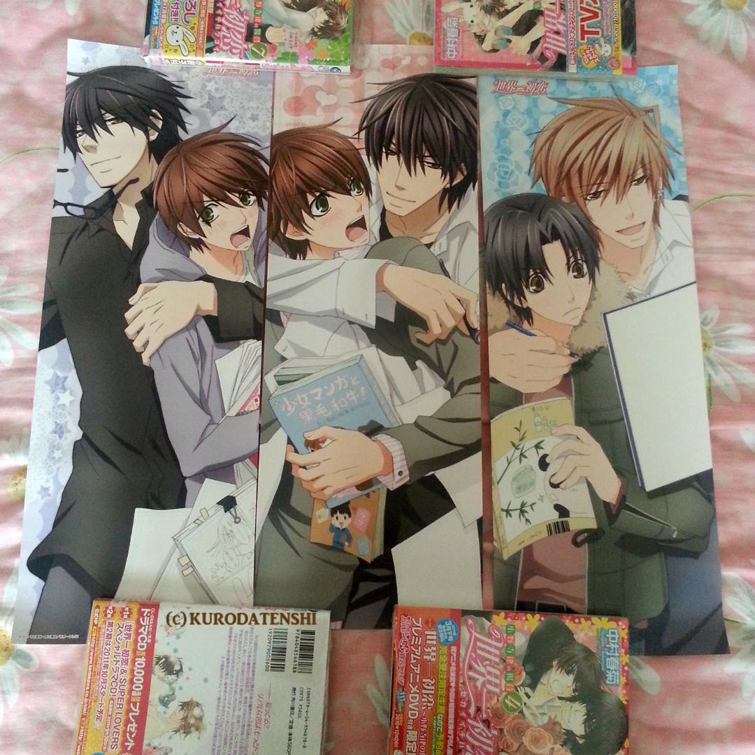 Sekaiichi Hatsukoi Character Posters Takano X Onodera Yukina X Kisa Entertainment J Pop On Carousell