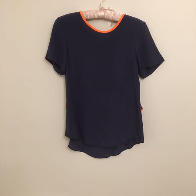 Shakuhachi Silk Top With Open Back