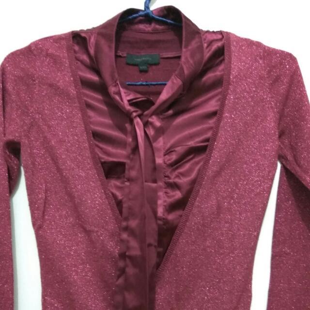 Shirt Model Cardigan