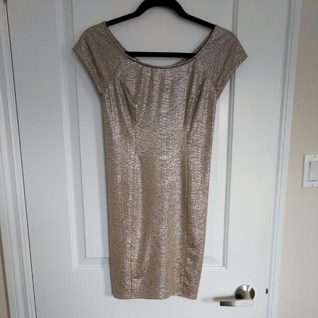 Size 2 Guess Gold Dress