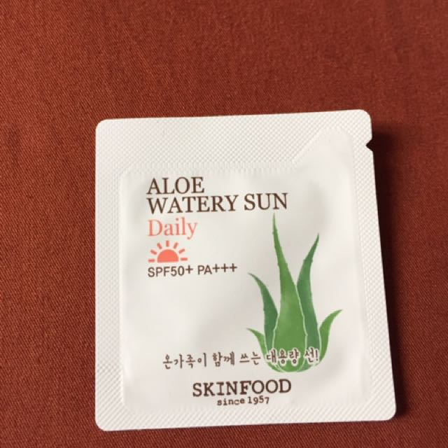 Skin Food Aloe Sunblock