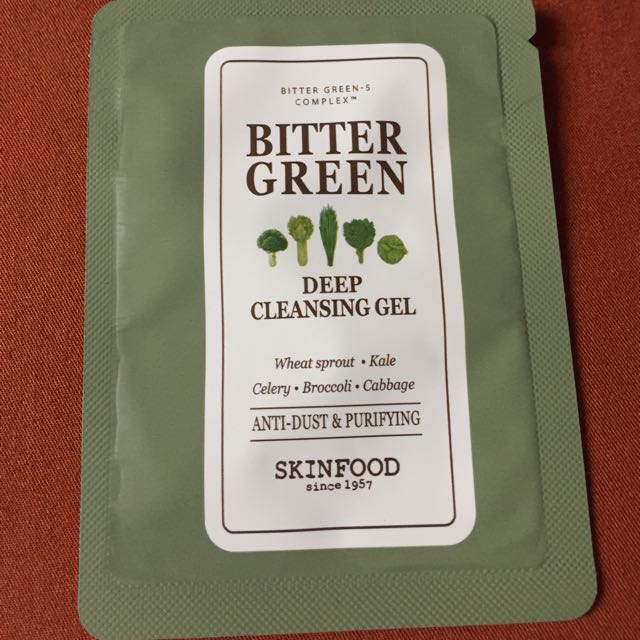 Skin Food Bitter Green Face Cleanser