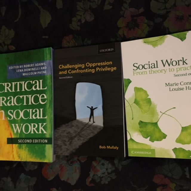 Social Work (Masters) Text Books X3