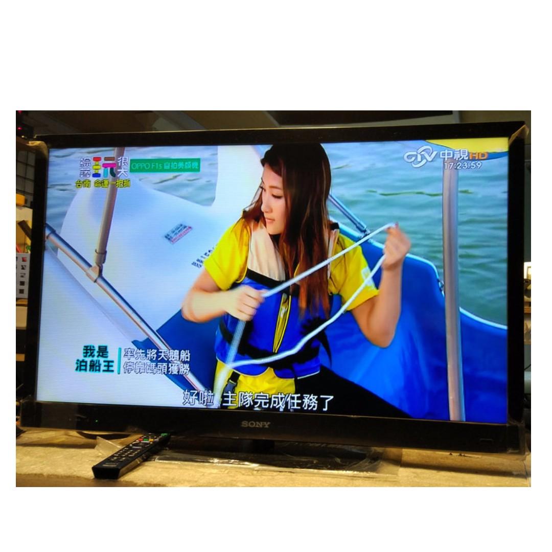 SONY 40吋 KDL-40EX720 3D側光式 LED 網路液晶電視 功能正常,120Hz 日本製 2011年
