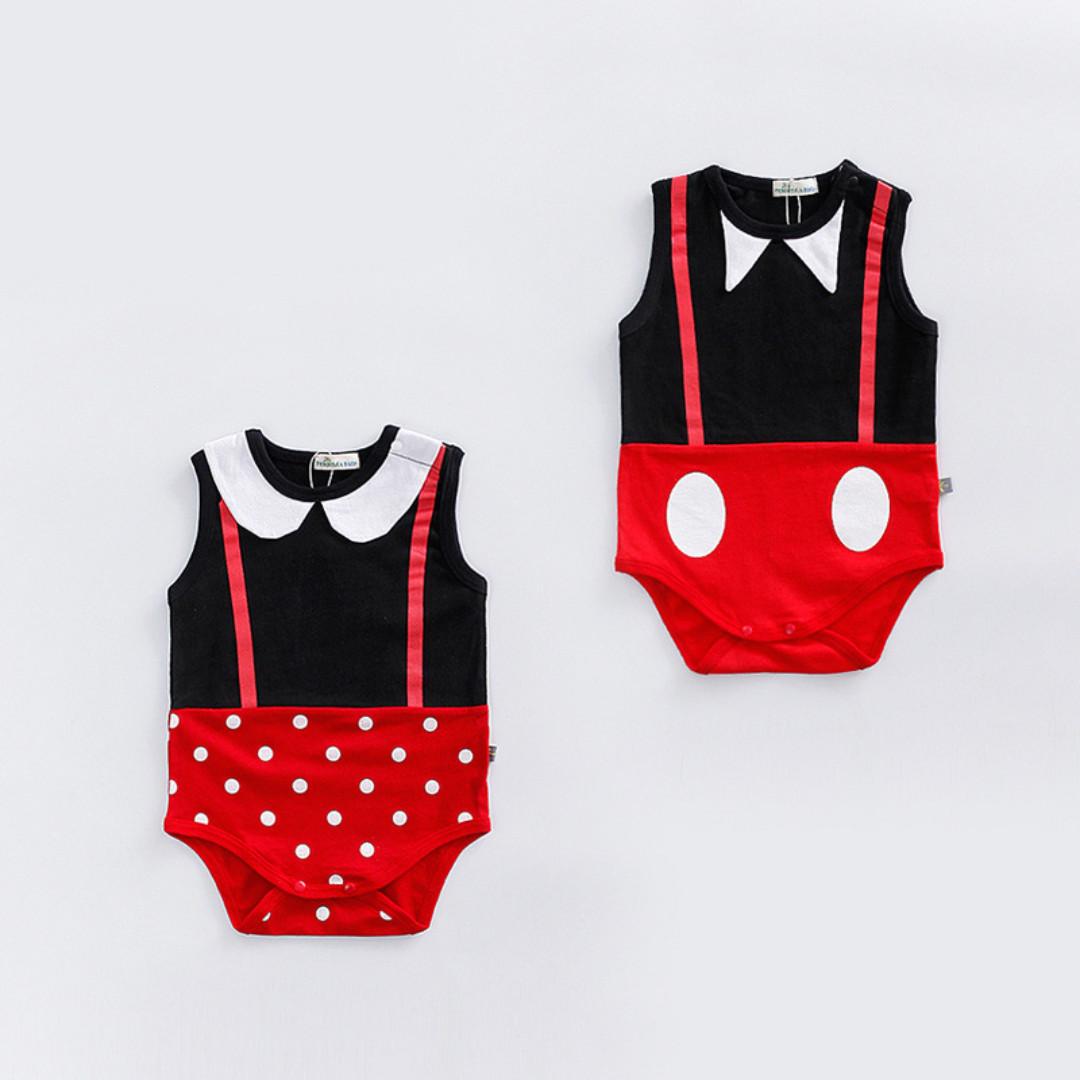 fe7369811e1e3 ✔️STOCK - DISNEY MICKEY MINNIE UNISEX BABY TODDLER BOY/GIRL ...