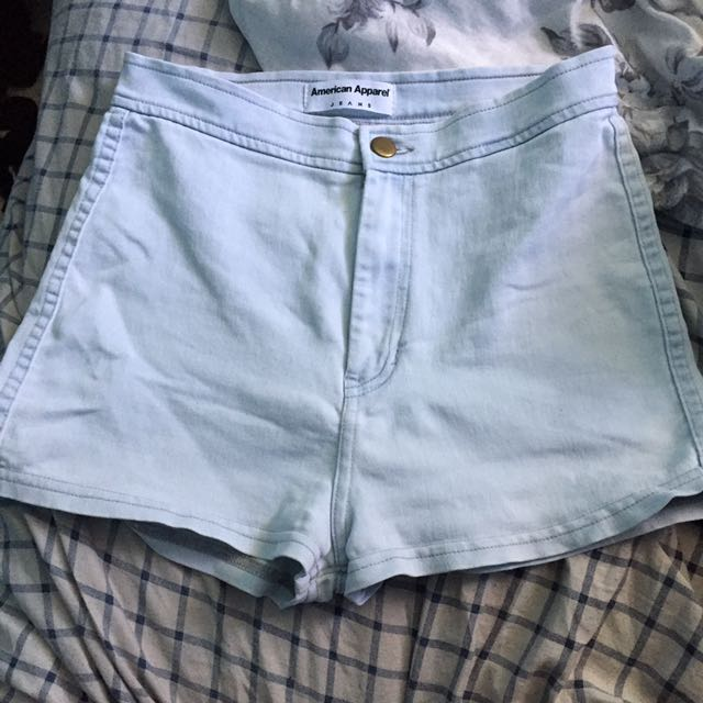 Sz: M American Apparel High Waisted Shorts