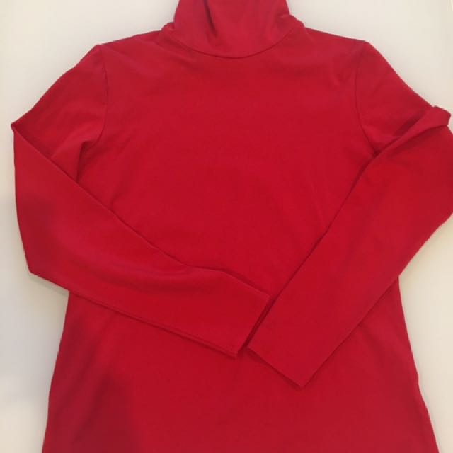 Target Turtle Neck - Red