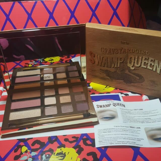 Tarte Grav3yardgirl Swamp Queen Palette. 100% Authentic. Rrp Is $69