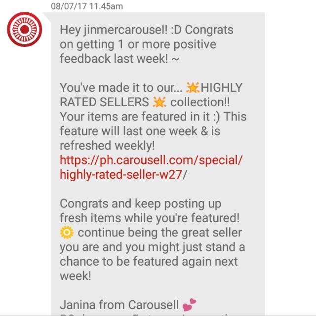 Thanks Carousel ❤