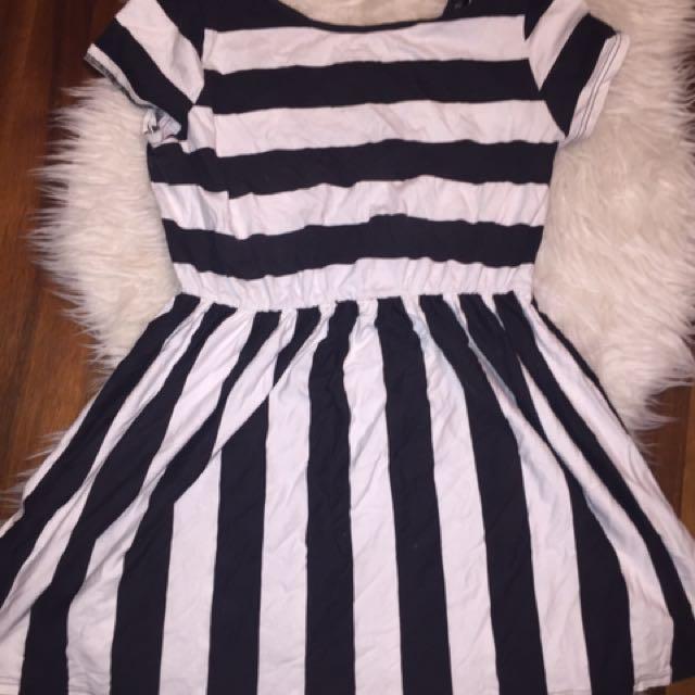 Top Shop Stripped Dress