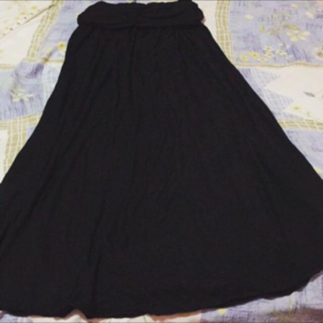 Uniqlo tube top dress