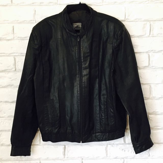 Genuine Leather Motorcycle Bomber
