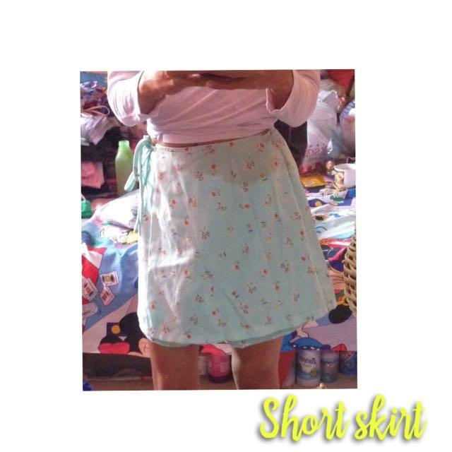 Vintage Flowery Skirt