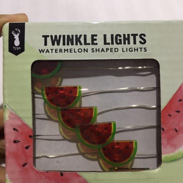 Typo WaterMelon Twinkle Light