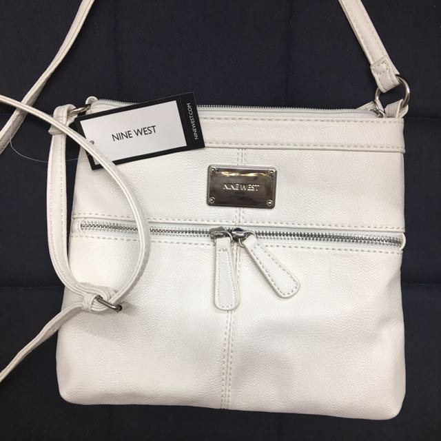 White Nine West Shoulder Bag