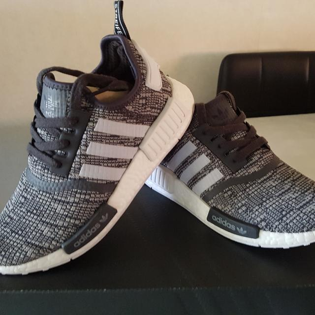 Women's NMDs Size 6 - Grey And White