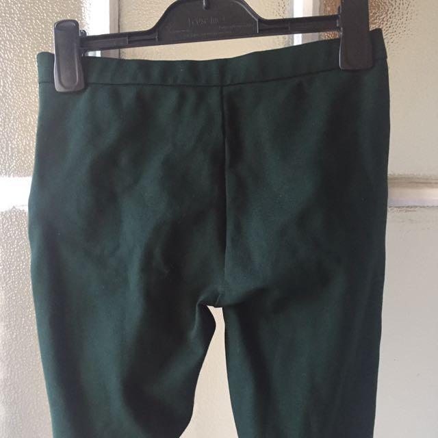 Zara Green Tights