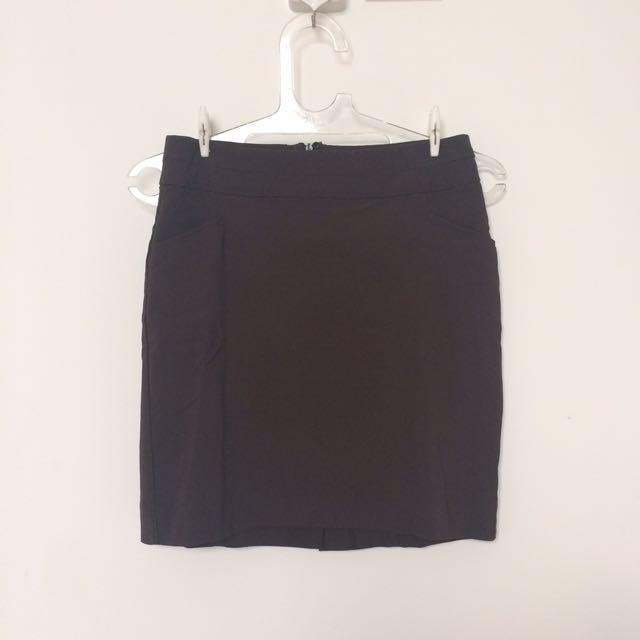 Zara Office Mini Skirt Rok Pendek Kerja