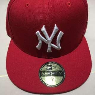 洋基帽 NEW ERA (紅色)