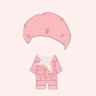 20cm娃衣  BTS EXO 娃 衣服  衣櫃  轟趴套裝&貝雷帽