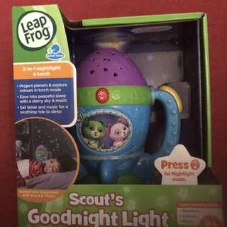 leapfrog goodnight light