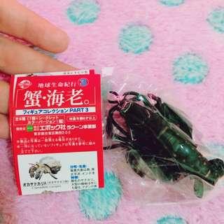 地球生命紀行3 蟹·海老 絕版扭蛋轉蛋公仔
