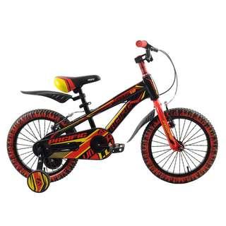 16in Pacific Umaga 1.0 BMX Sepeda Anak Laki-Laki Usia 4 - 7 Tahun