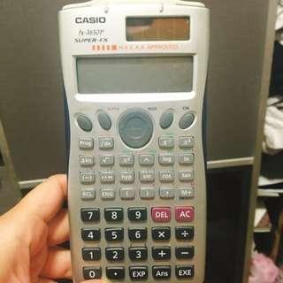 Casio fX3650P DSE專用計數機