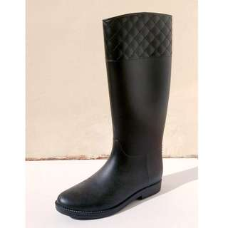 Quilted Prim Wellington Boots