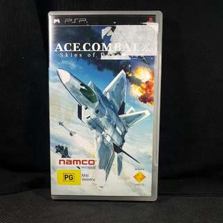 PSP Ace Combat Skies of Deception (Used Game)