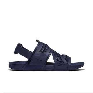 Nike Air Solarsoft Zigzag WVN QS涼鞋 拖鞋 深藍色 公司貨
