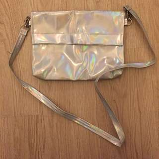 (no brand) HOLOGRAPHIC Cluch / Sling Bag