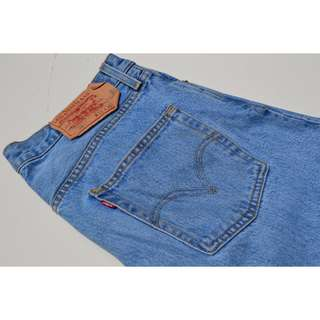 Mens Levis 501 Denim Jeans Size 32W