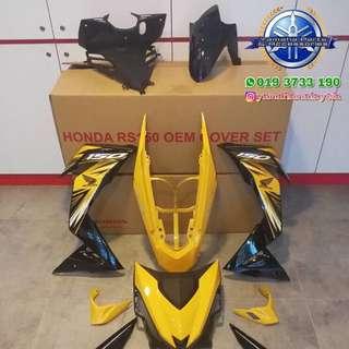 Honda Winner yellow