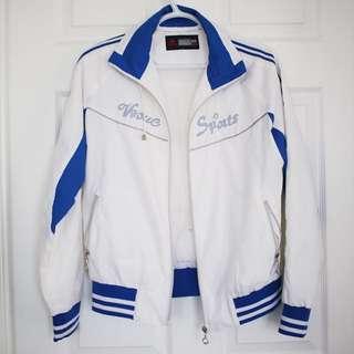 Retro Blue & White Jacket