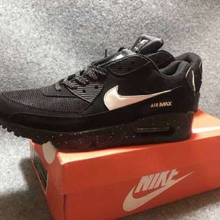 Black And White Airmaxes