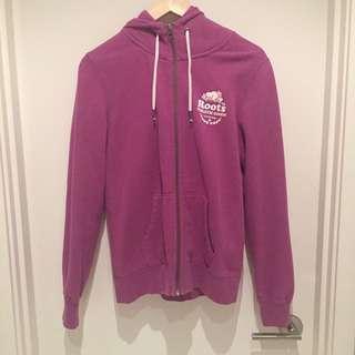 Roots Zip-up Sweater