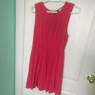 H&M PINK SUMMER DRESS