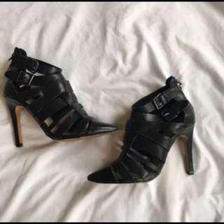 🚨PRICE DROP 🚨Zara Leather Heels Size 38