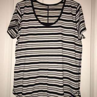 Cotton on Stripe T Shirt